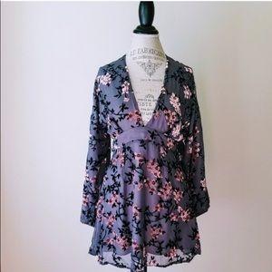 Like NEW Skylar+Madison open-backed mini dress